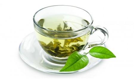 Chá verde Infusão com benefícios para a saúde