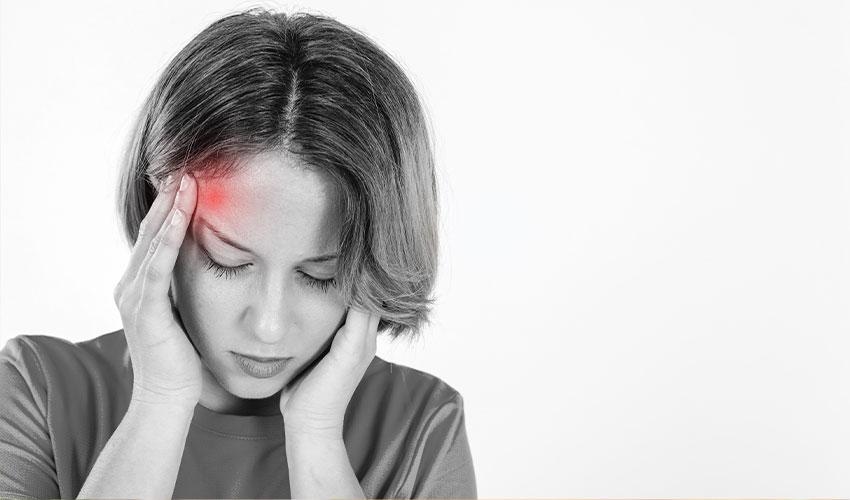 formas naturais para aliviar as dores de cabeça