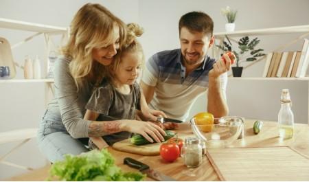 Receitas saudáveis para toda a família