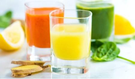 Shots Saudáveis - Comece o dia com um shot de vitaminas