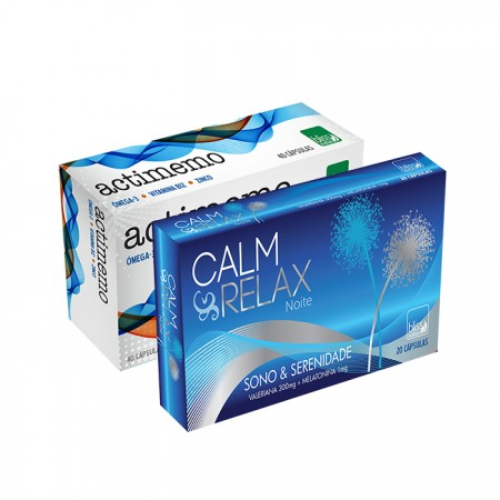Pack Calm Relax & Actimemo