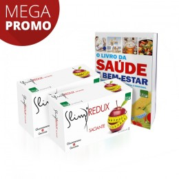 Pack Slim REDUX SACIANTE Suplemento Alimentar
