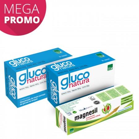 Pack Gluco Natura (2 unidades) + Magnesil