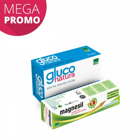 Pack Gluco Natura + Magnesil